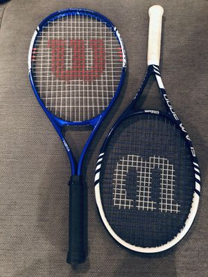 Wilson Tennis Rackets for Sale in Houston, TX