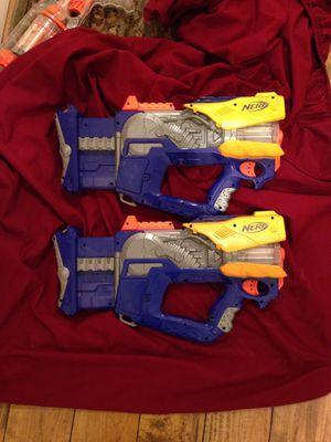 2 NERF GUNS (FIREFLY REV - 8) for Sale in Pasadena, CA