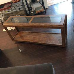 Wood And Glass Shelf for Sale in Hillsboro,  OR
