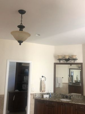 Vanity Lights - Antique Bronze (Set or Seperate) for Sale in Weston, FL