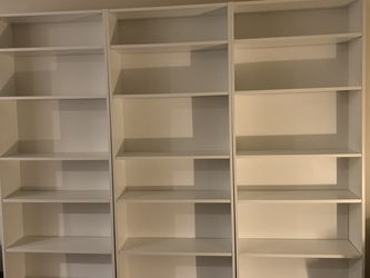 3 Ikea Billy Bookcases - ONE STILL AVAILABLE for Sale in Seattle,  WA