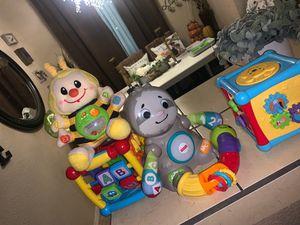 10 $ for toys all light up for Sale in San Bernardino, CA