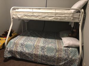 Bunk beds $250 obo mattress included for Sale in Yuba City, CA