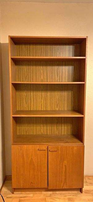 Wooden Cabinet Bookcase for Sale in San Diego, CA