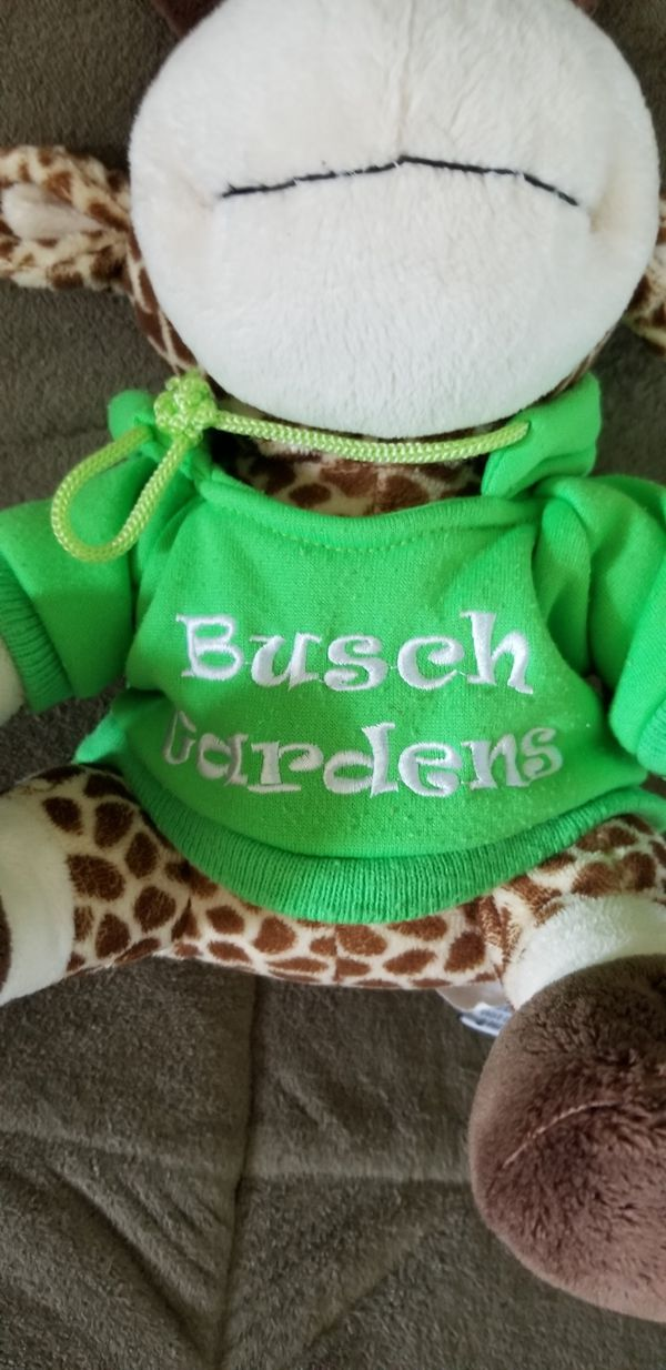 Busch Gardens Giraffe Plush Stuffed Animal