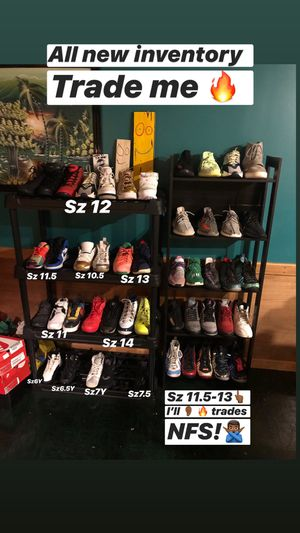 Sz 6Y-14 Kicks Yeezys Jordan's Nike Adidas Off White Bape Supreme Kaws Foamposite AirMax Hype Shoes for Sale in Manassas, VA