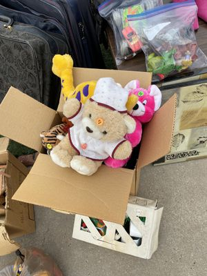 Stuffed Animals, toy grab bag for Sale in Albuquerque, NM