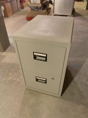 Sentry model 6000 fireproof 2 drawer file cabinet for Sale in VERNON ROCKVL, CT