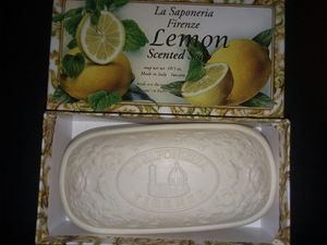 Italian Lemon Soap made in Italy for Sale in Schiller Park, IL