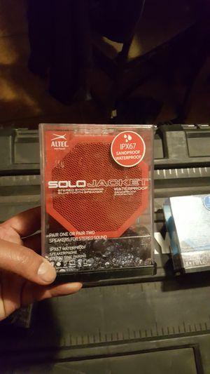 Solo jacket Bluetooth speaker for Sale in Buckeye, AZ