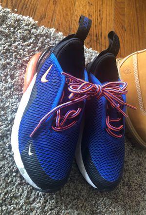 Timberland 8 1/2, Blue Ralph Lauren 10, Blue Nike 11, Brown Oshkosh Boots 8, Tan Canvas 9, Red White & Black 11, Black & Gray 11, Timberland Shoes 9 for Sale in Manassas, VA