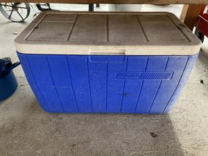 Coleman cooler for Sale in Granite Falls, WA