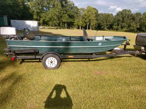 14' aluminum boat for Sale in Evadale, TX