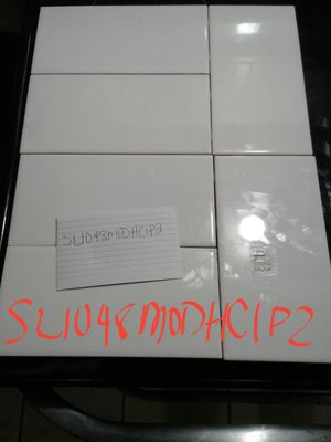 "American Olean Starting Line Gloss White Ceramic Wall Tile 4""x 8"" 5 Boxes NEW for Sale in Nicholasville, KY"