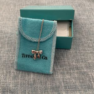 Vintage Tiffany And Co. Sterling Sliver Bow Necklace for Sale in Fullerton, CA
