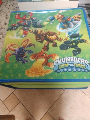 Sky Landers case and figures for Sale in Murfreesboro, TN