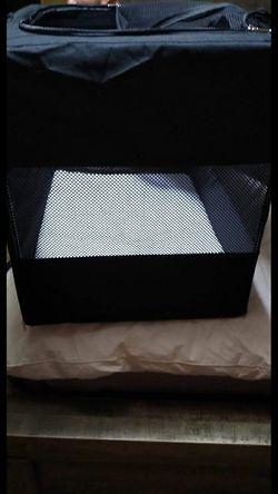 Animaze Portable Canvas Dark Grey Dog Crate, 42 for Sale in Shinnston,  WV
