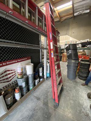 10 foot fiberglass A frame ladder for Sale in San Juan Capistrano, CA
