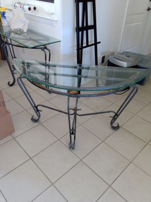 Glass table for Sale in San Luis Obispo, CA