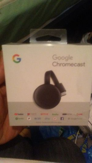 Brand new GOOGLE CHROMECAST. SEALED for Sale in New York, NY