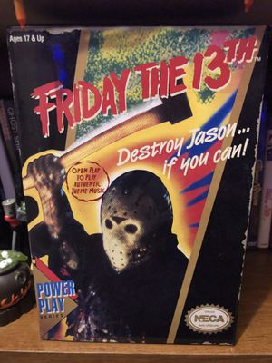 NECA Friday The 13th NES Jason Voorhees Action Figure (RARE) for Sale in Miami, FL