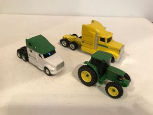 ERTL DieCast John Deere semi trucks and tractor 1/64 for Sale, used for sale  Kirkland, WA