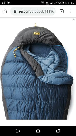 Brand New $280 REI Igneo 25 Down Sleeping Bag for Sale in Las Vegas, NV
