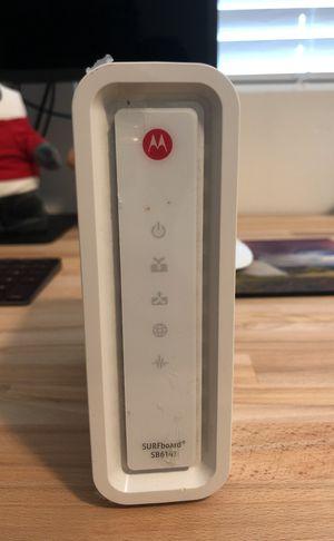 Motorola surfboard SB6141 modem for Sale in Oakland, CA
