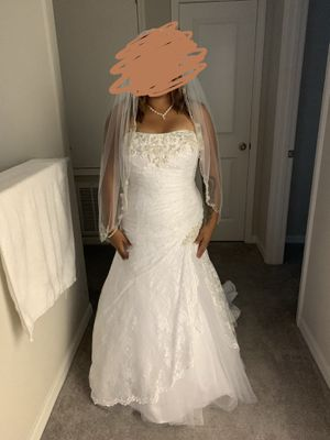 David's Bridal wedding dress! for Sale in Ruskin, FL