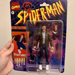 Marvel Legends Retro Vintage Spider-Man Peter Parker Figure for Sale in Clovis, CA