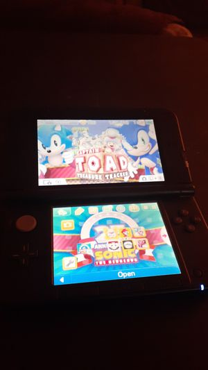 NINTENDO 3ds XL Moded WGames Charger & 32gb Memory for Sale in Orlando, FL