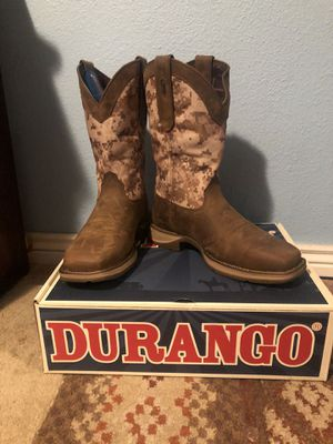 Cowboy boots/ work boots for Sale in Aurora, CO