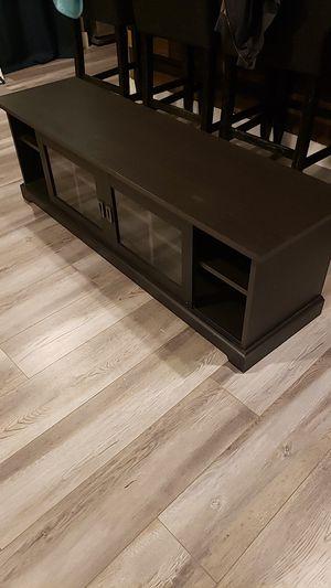 Dark mocha TV stand for Sale in Orange, CA