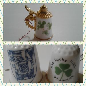 🇮🇪 THIMBLE COLLECTIBLES - IRELAND @ $4.00 and $12.00 for Sale in Manteca, CA