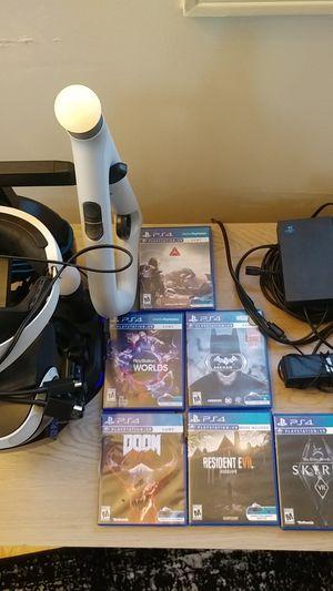 Playstation VR Bundle PSVR for Sale in Waterbury, CT