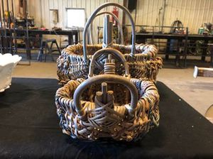 Vintage Buttocks Baskets. Set of 2 Matching. for Sale in Cynthiana, KY