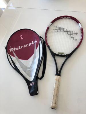 Tennis racket and case. Slazenger philosophy 250 for Sale in Scottsdale, AZ