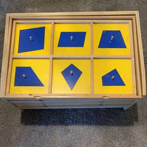 Geometric Cabinet - Montessori School Supplies for Sale in Coram, NY
