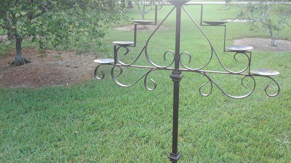 Vintage Spanish Gothic 7 light candelabra