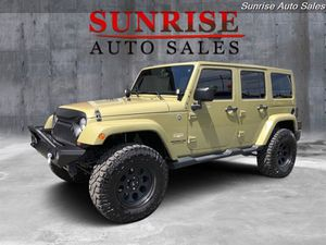 2013 Jeep Wrangler Unlimited Sahara for Sale in Milwaukie, OR