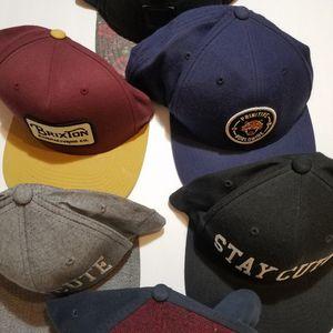 Primitive brixton stay cute Snapbacks hats caps bundle for Sale in Santa Monica, CA