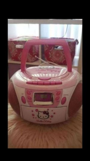 Hello Kitty boom box for Sale in Phoenix, AZ