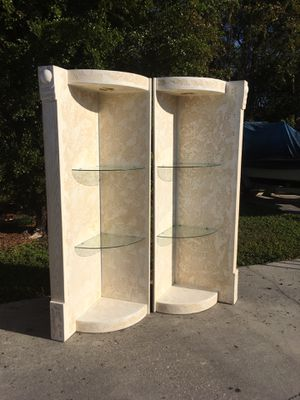 Lighted Glass Corner Shelves DELIVERY AVAILABLE 🚗 for Sale in Bonita Springs, FL
