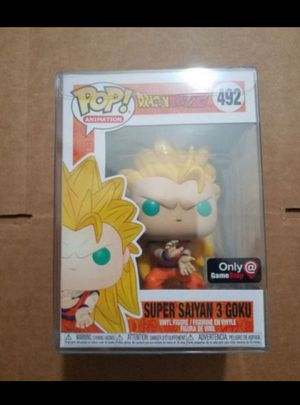 DRAGONBALL Z FUNKO POP SUPER SAIYAN 3 GOKU GAMESTOP EXCLUSIVE for Sale in Moreno Valley, CA