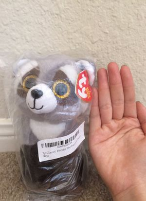 TY Classic Bandit Racoon plush stuffed animal for Sale in Austin, TX