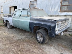 C10 4dr Crew cab short bed 5 lug project for Sale in Fresno, CA