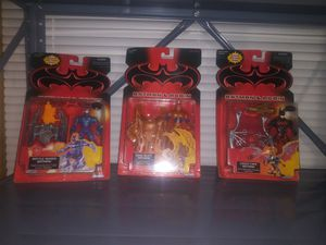 (3) 1997 Batman Action Figures for Sale in New Holland, PA