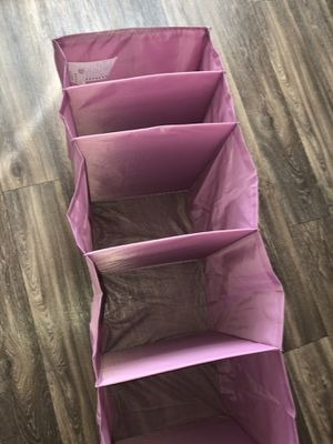 IKEA pink closet organizer for Sale in Vancouver, WA