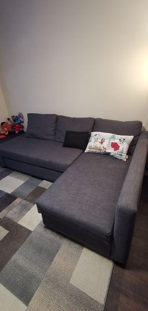 IKEA Friheten sleeper sectional couch for Sale in Atlanta, GA