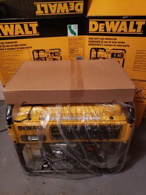 8k watt gas dewalt generator BRAND NEW!!! for Sale in Carnegie, PA